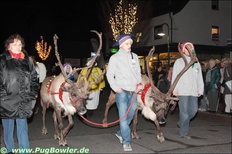 Weihnachtsparade in Hückelhoven